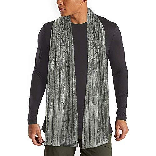 Regan Nehemiah Scenery van sneeuw bedekt kauwgom bomen bos O Australische sjaal zachte lange sjaals warme sjaal ademende lange sjaal comfortabele winter sjaals