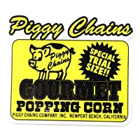 アメカジ ステッカー Piggy Chains シール Sticker 防水