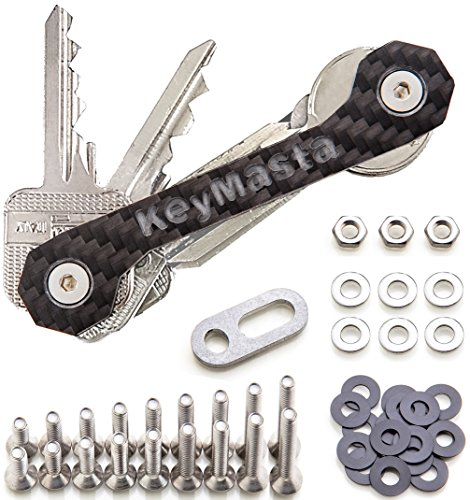 Schlüssel Organizer mit Spezial Befestigungssystem, Key Organizer Carbon - Made in DE