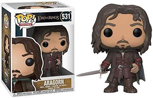 10 cm Aragorn Pop Figure Figure: Le Seigneur des Anneaux Ornements de décoration de Paysage Exquis