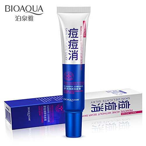 WuLian Best Acne Treatment Face Cream Acne Removal Anti Acne Fade Scars Moisturizing Oil Control Shrink Pores Beauty Skin Care