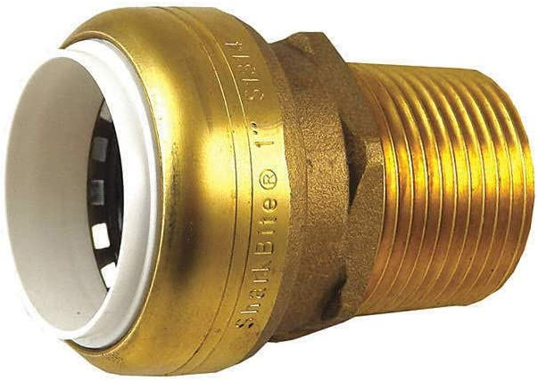 UIP140 Male Adapter Brass Popular product 2.4in.L 8in. Fees free dia. 1-1