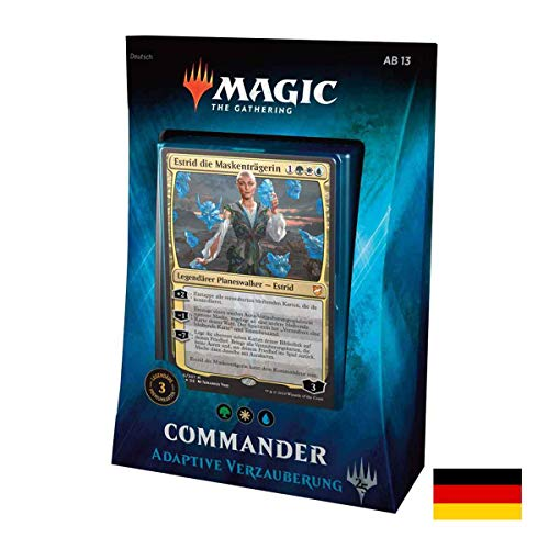 Lively Moments Magic The Gathering Commander 2018 - Baraja de Cartas adaptativa (versión Alemana)