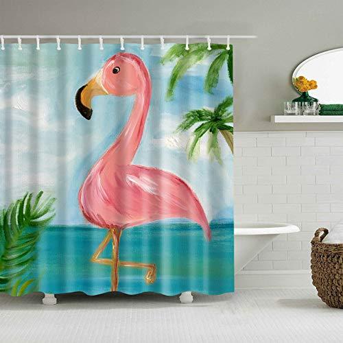xkjymx Duschvorhänge Vorhang Unterwasser Tierdruck waschen Duschvorhang Großes Bad Einzeldruck Wasserdicht