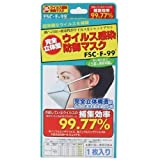 ウイルス感染防御マスク FSC・F99 くり返し使えるタイプ 1枚入