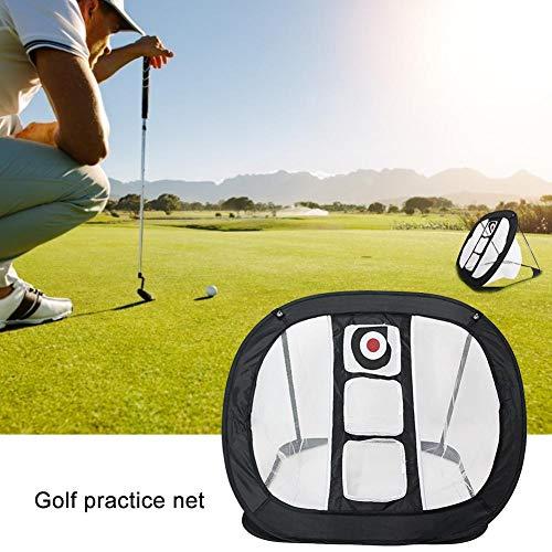 MezoJaoie Pop Up Golf Chipping Net, Golf intérieur/extérieur Target Net Accessoires de golf pliables pour la précision et la pratique du swing