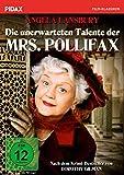 Die unerwarteten Talente der Mrs. Pollifax / Spannende Agentenparodie nach dem Krimi-Bestseller von Dorothy Gilman mit Angela Lansbury (bekannt aus 'Mord ist ihr Hobby') (Pidax Film-Klassiker)