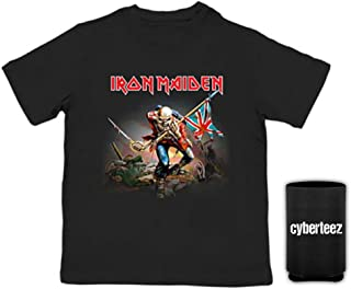 Cyberteez Iron Maiden Trooper Kids Child Toddler Black T-Shirt + Coolie