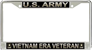 MR3Graphics US Army Vietnam Era Veteran License Frame - American Made - Veteran Approved!