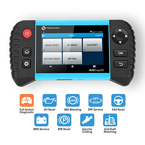 Car Code Reader –TOPDON OBD2 Scanner with Android Based...