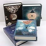 ZHUIUI taccuino Diario Like a Dream con Blocco Note Notebook Planner Funzionale Carino Blo...