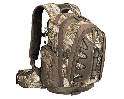 Insights 9301 The Element Heavy Duty 1,831 Cubic Inch Outdoor Hiking Fishing Camping Hunting Backpack with Rain Fly, Real Tree EDGE