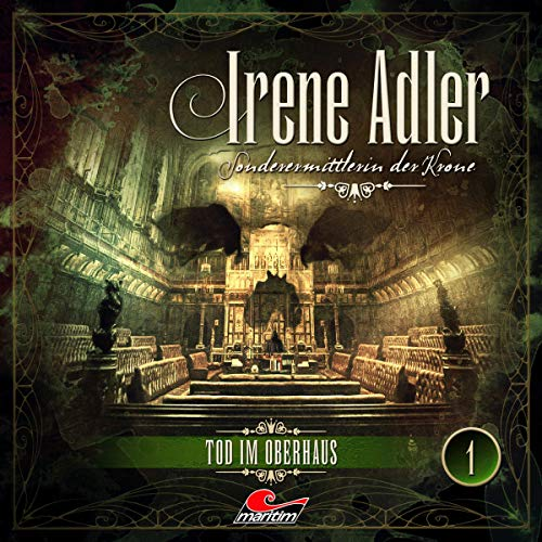 Tod im Oberhaus audiobook cover art