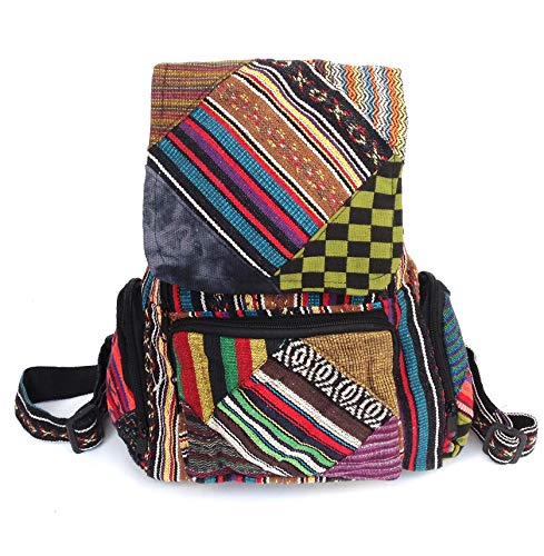 Mochila Hippie Multicolor