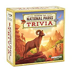 national park gift idea trivia game