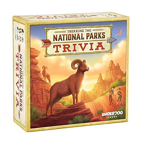 Underdog Games Trekking The National Parks: The Family Trivia Game