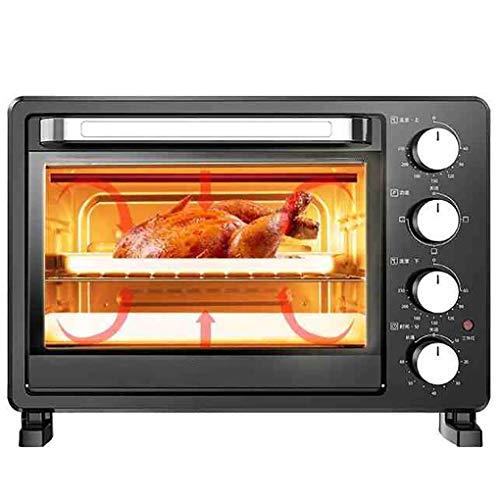 35L Horno Eléctrico,con Light- Multi Función De Cocción Grill,Temperatura Ajustable Control De 70-230 ℃ 60 Minutos Temporizador Útil