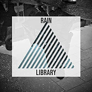 Soothing Rain Storm Library