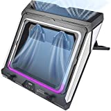 Laptop Cooling Pad for Gaming Laptop, 14-17 Inch Double Blower Cooler Pad with Dust Filter, Flexible...