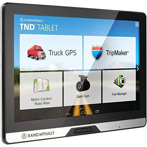 "Rand McNally 528013076 Intelliroute 8"" TND Tablet with Built-in Dash Cam"