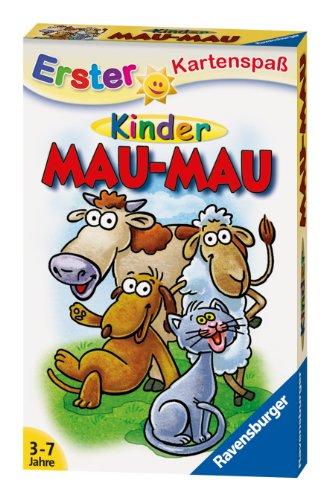 Ravensburger Kinderkartenspiele 20430 - Kinder Mau Mau