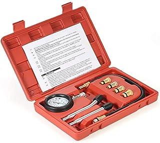Gasoline Engine Compression Tester Auto Petrol Gas Engine Cylinder Automobile Pressure Gauge Tester Automotive Test Kit 0-...