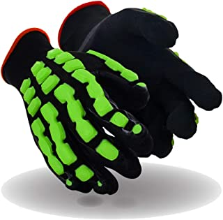 Size 2XL 1 Pair Magid Insulated Winter Work Gloves Blue//Green Magid Glove /& Safety TRX654WXXL Leather Coated Cut Resistant Impact Safety Gloves with Thermal Liner /& Waterproof Membrane