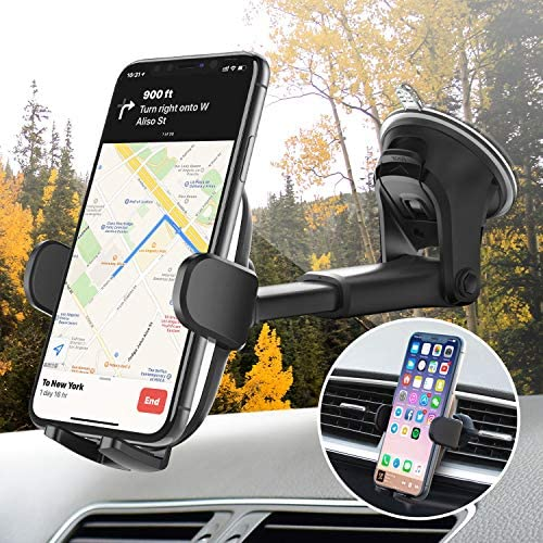 3 in 1 Suction Cup Phone Holder Windshield Dashboard Air Vent Oqtiq Dashboard Windshield Suction product image