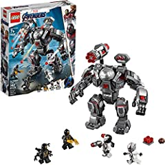 Build the posable War Machine Buster mech toy, with an opening minifigure cockpit, 6-stud rapid shooter, 2 detachable stud-shooting cannons, 2 flick missiles and gripping hands, and battle the Outriders! Includes 4 minifigures: a War Machine figure a...