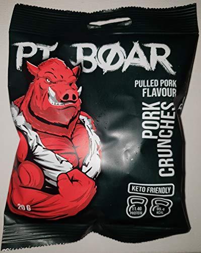 PT Boar Pork Crunches Pulled Pork Keto