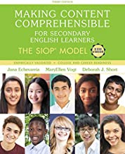Making Content Comprehensible for Secondary English Learners: The SIOP Model, with Enhanced Pearson eText -- Access Card Package (3rd Edition) (SIOP Series)