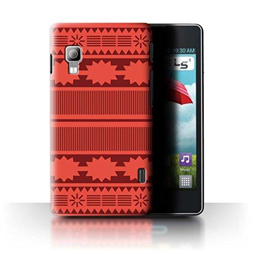 Stuff4® Hülle/Case für LG Optimus L5 II/E460 / Aztek/Prinzessin Kleid Muster/Karikatur Polynesische Prinzessin Kollektion