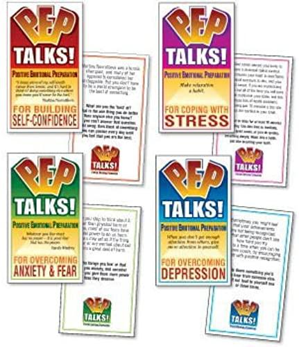 diseños exclusivos PEP Talks Cards, Cards, Cards, Set of 4 by Wellness Reproductions & Publishing  tienda en linea