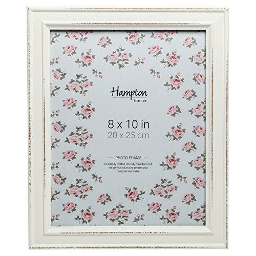 Hampton Frames PAL301980W - Marco de Fotos (20 x 25 cm), Color Blanco