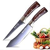 Butcher Knife Set Boning Knife Set Chef Knife Kitchen Knives Sharp Blade Slicer Stainless Steel...