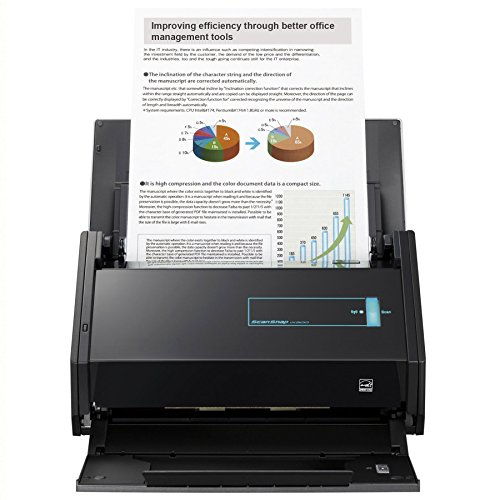 Fujitsu ScanSnap iX500 Color Duplex Desk Scanner for Mac and PC (Renewed)