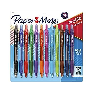 Paper Mate Profile Retractable Ballpoint Pens