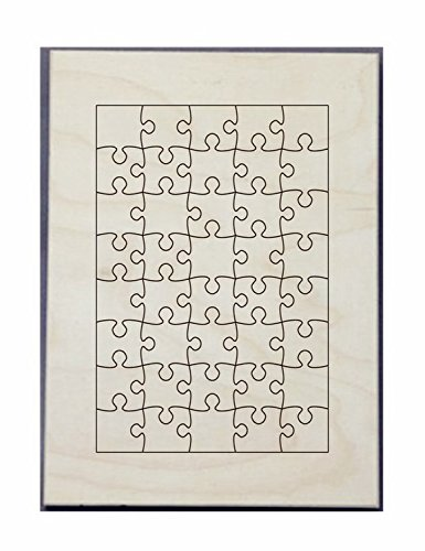 Puzzle Maker Die8X11inch-40 pcs -Cutting Die-Cut Puzzle Steel Rule Die for Jigsaw Puzzle 8X11inch-40 pcs