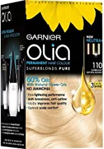 GARNIER OLIA OIL POWERED PERMANENT COLOR HAIR DYE 110 Super Light Natural Blonde