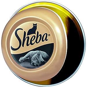 Sheba Feine Filets – Getreidefreies Nassfutter für Katzen als besonderer Snack – Saftige Filets – 24 x 80g Katzennahrung… 1