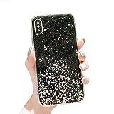 Jacyren Hülle iPhone XR, iPhone XR Case Ultra dünn Weich TPU Silikon Mode Bunt 3D Muster Bling Handyhülle Bumper Cover Kratzfeste Stoßfest Schutzhülle Case Tasche für Apple iPhone XR