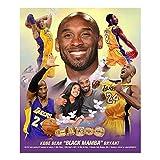 Bruce Teleky Remembering Kobe Bryant and Daughter Gianna Collage Memorabilia by Wishum Gregory LA Lakers NBA Basketball Star Print Poster (8 1/2 x 11)
