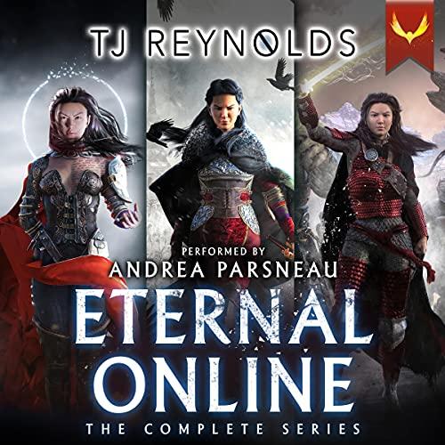 Eternal Online: The Complete Series: (A LitRPG Series Box Set: Books 1-3) cover art
