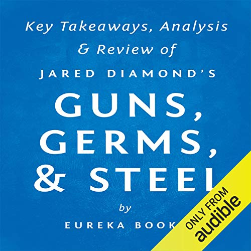 Guns, Germs, & Steel: The Fates of Human Societies by Jared Diamond Titelbild