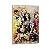 ERTEF Aerosmith Poster, dekoratives Gemälde, Leinwand,