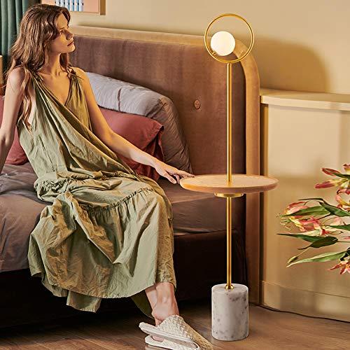 TY-ZWJ Lámpara de pie Vertical Moderna LED, Mesa de Centro Recargable para habitación de Lectura de Dormitorio Lámpara de Piso de Sala de Estar de Piano