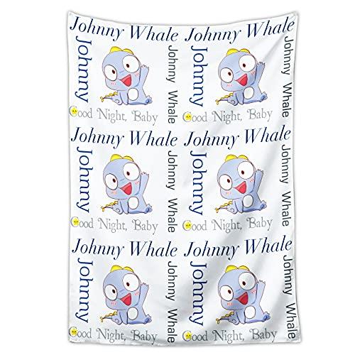 Coperta personalizzata personalizzata per bambini con nome-bambino animali coperte-Nursery morbido nome personalizzato coperta per neonati, neonati, bambini