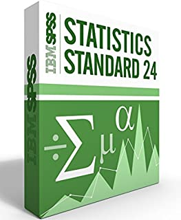 IBM SPSS Statistics Grad Pack Standard V24.0 12 Month License for 2 Computers Windows or Mac