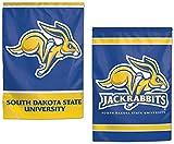 South Dakota State Jackrabbits Garden Flag 12.5 x 18 Inches 2 Sided