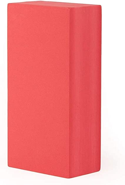 Bloco Tijolo de Yoga EVA, mais estabilidade e conforto 220mm x 110 x 66mm   200g
